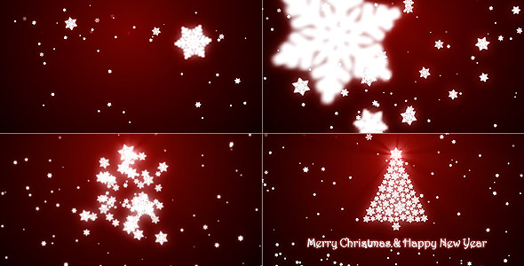 after effects Christmas template