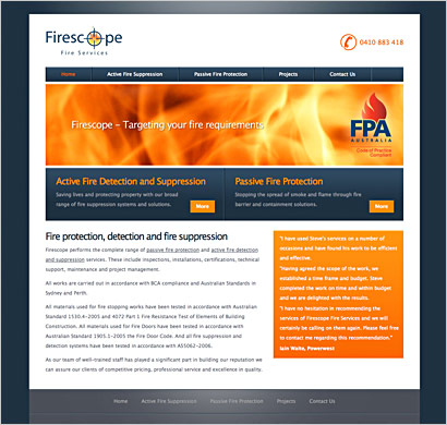 firescope website