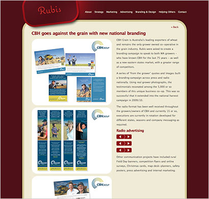 website design for marketing agency