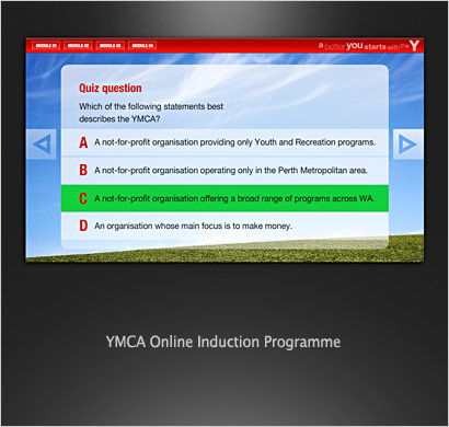 online induction programme